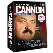 Cannon Complete Series Season 1-5 ALL 122 EPISODES (1 2 3 4 5) BRAND NEW... - $44.95