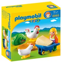 PLAYMOBIL® Farmer's Wife with Hens - $16.99