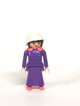 Playmobil 5324 Victorian Mansion Dollhouse Bathroom Nanny Maid female fi... - $4.99