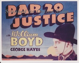 William Boyd Bar 20 Justice 8x10 Photo - $9.99