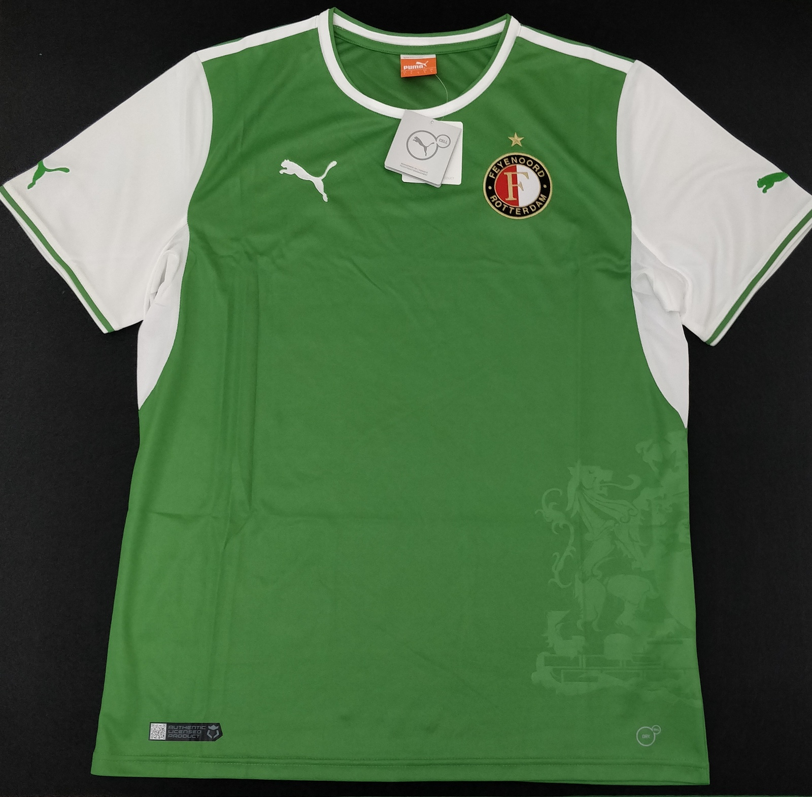 Primary image for Feyenoord 2013/14 Away Jersey Puma Fans Version %100 Authentic BNWT