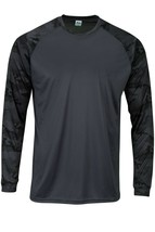 Sun Protection Long Camo Sleeve Dri Fit Graphite Gray sunshirt base layer SPF50+ image 1