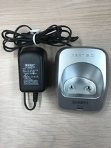 DCX200 Uniden DECT 6.0 Handset Charging Base With Power Adapter -Tested-    (W5)