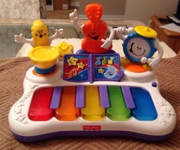 Fisher Price Little Superstar Jammin' Band Piano - M3194, GREAT SHAPE - $21.38