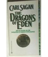 THE DRAGONS OF EDEN by Carl Sagan (1978) Ballantine illustrated paperbac... - $12.86