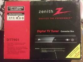 Zenith DTT901 Digital TV Tuner Converter Box w/ Analog Pass-Through & Re... - $90.99
