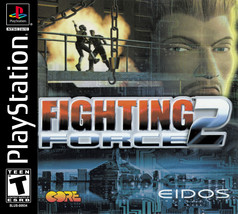 Fighting Force 2 Playstation PS1  Disk Only - $8.53