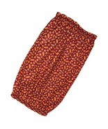 Dog Snood Tiny Autumn Fall Leaves Cotton Size Puppy SHORT - $11.00