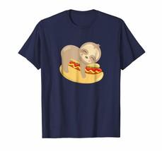 Dog Fashion - Sloth Hot Dog Funny Animal Gift Sloths Shirt Men - $19.95+