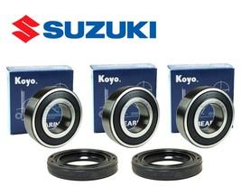 Rear Wheel Bearings & Seals for Suzuki RMX450 Z 2017 Koyo - $34.20