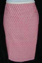 Talbots Skirt size 8 Pink Eyelet Straight Knee Feminine Church Career Cruise - $29.97