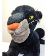 Jungle Book Bagheera Black Panther Disney Exclusive Plush Stuffed Cat 27... - $39.99