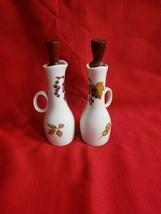 """VIntage Royal Worcester Evesham China 5 7/8"""" Oil & Vinegar Cruet Set - $28.71"""