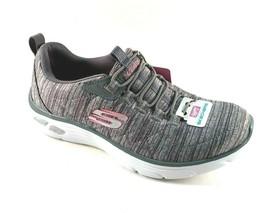 Skechers 12820 Gray Relaxed Fit Memory Foam Slip On Sneakers - $69.00