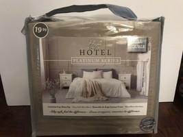 LOFT HOTEL PLATINUM SERIES FULL DOUBLE SIZE SHEET SET- Microfibre 4pc Sh... - $39.59