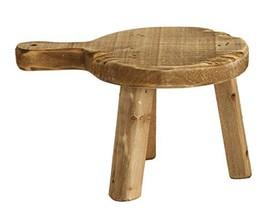 Creative Co-Op Fir Wood Pedestal - $23.45