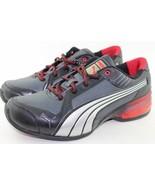 Puma RI-Run L Hex Jr Black Red Youth Size 6.0 New Super Rare Authentic - $64.59