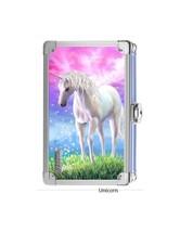 Vaultz 3D Unicorn Supply Box with Sturdy Key Locking Exterior New - $28.04