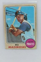 Bill Mazeroski-  1968 Topps- #390 - $19.80