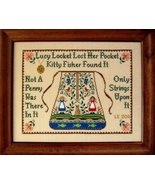 Lucy Locket Sampler cross stitch chart The Needle's Notion  - $8.10