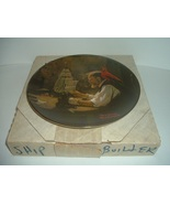 Edwin Knowles Norman Rockwell The Ship Builder Heritage Collection plate... - $18.99