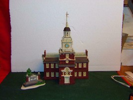 DEPT 56  Historical Landmark series-Independence Hall -2 PIECE SET-MINT - $36.63