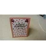 Happy Birthday Blnged Greeting card - $3.50