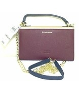 Giani Bernini Womens Leather Crossbody Trifold Wallet Bronze Small - $38.90