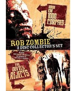 Rob Zombie 3-Disc Collector's set DVD Sherri Moon, E.G. Daily, Rob Zombie - $11.83
