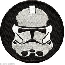 "Star Wars Imperial Storm Trooper Sew/Iron On 10"" Back Patch Badge Appliq... - $19.78"