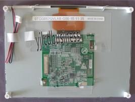 New STCG057QVLAB-G00 Lcd Display Screen Panel 90 Days Warranty - $90.25