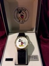 Men's 1980's (NEW) Vintage Seiko Quartz Mickey Mouse Wrist Watch - $300.00