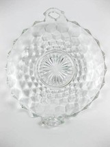 Vintage Fostoria American Clear Double Handled Utility Tray Candy/Nut Dish - $15.00