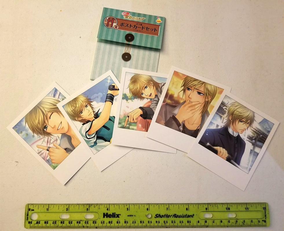 "La Corda d'Oro ""Aoi Kaji"" Furoku Anime Polaroid Postcards * Post Cards"