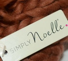 Simply Noelle Fall Winter Hat Large Pom Pom Two Large Buttons image 6