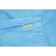 Juicy Couture Black Label Water Blue Tropic Stretch Skinny Crop Jeans 28 NWT image 9