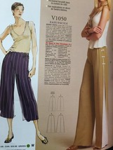 Vogue Sewing Pattern Todays Fit 1050 Misses Pants Size A to J New - $16.79