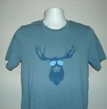 Warped Roots beer Juiced Moose Indian Pale Ale IPA T Shirt Mens Medium - $21.73