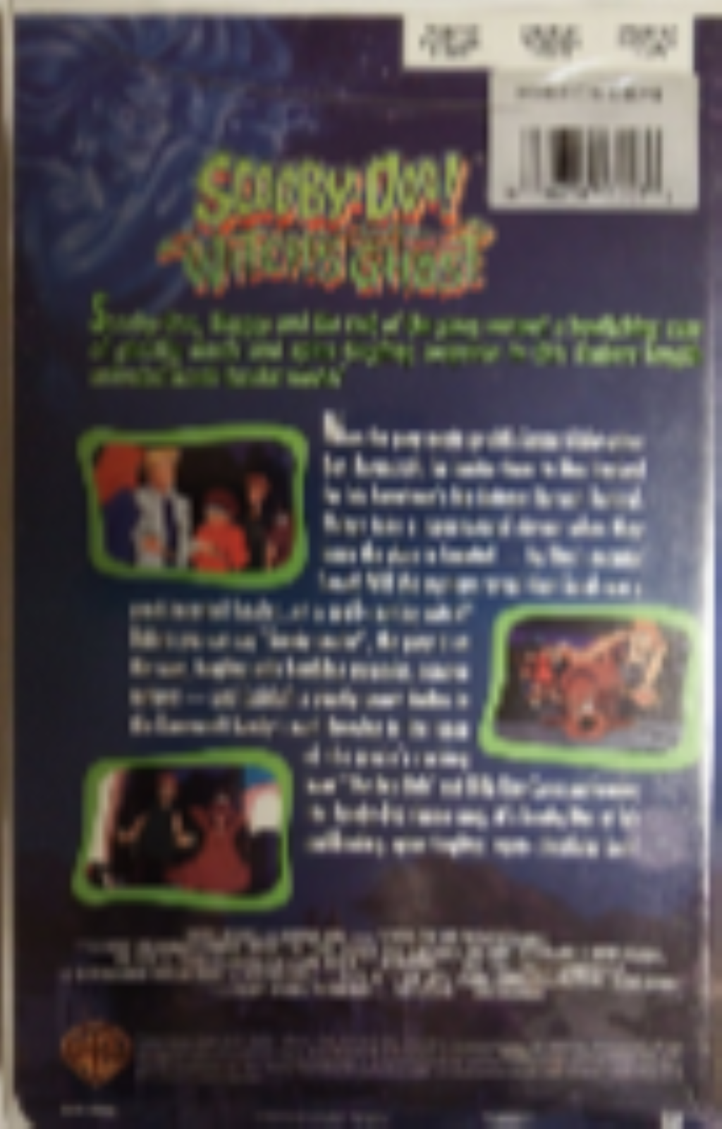 Scooby-Doo and the Witch's Ghost Vhs