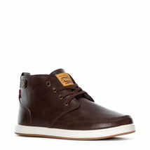 LEVIS ATWATER BURNISH II ATHLETIC SPORTS SNEAKER MEN SHOES BROWN SIZE 10... - $69.29