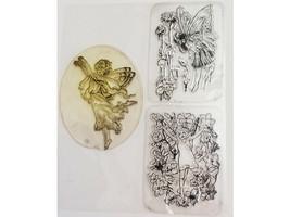 Fairies Clear Stamp Set, 3 Stamp Designs