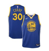 Nike Youth Golden State Warriors Stephen Curry #30 Royal Swingman Jersey... - €71,47 EUR