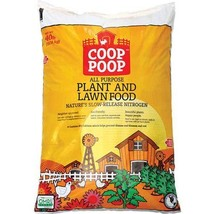 PEARL VALLEY ORGANIX HGR243CP40 Coop Poop Garden Food, 40 lb.
