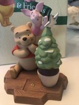 "Disney Winnie the Pooh & Piglet Figurine ""ONE LITTLE STAR MAKES A DIFFE... - $24.74"