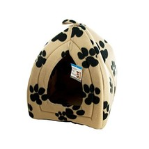 Kole Cozy Fleece Indoor Pet House, One Size - $19.99