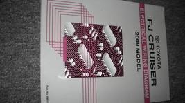 2009 Toyota FJ Cruiser Electrical Wiring Diagram EWD EVTM Shop Manual OEM - $29.69