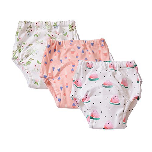 Baby Toddler Girls Cloth Potty Training Pants Underwear ...