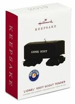 Hallmark  1001T Scout Tender Lionel Keepsake Ornament 2019 - $16.36