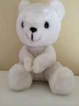 """Dakin White Polar Bear Paws 1977 10"""" - $15.83"""