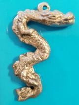 Brand NEW Silver Dragon pendant Key chain - $1.07